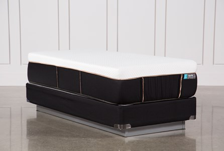 Copper Hybrid Firm Twin Extra Long Mattress W/Foundation