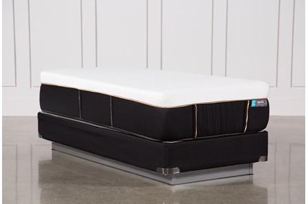Copper Hybrid Firm Twin Extra Long Mattress W/Foundation - Main