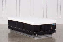 Copper Hybrid Firm Twin Xl Mattress W/Low Profile Foundation