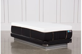 Copper Hybrid Firm Twin Xl Mattress W/Low Profile Foundation