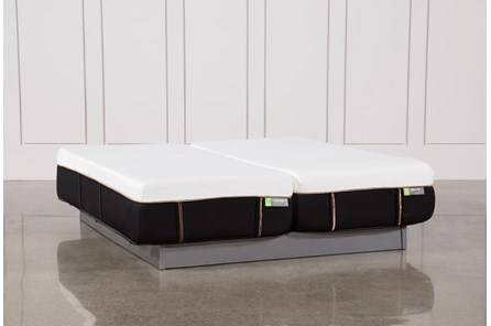 Copper Hybrid Medium Eastern King Split Mattress Set - Main