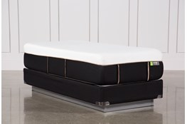 Copper Hybrid Medium Twin Extra Long Mattress W/Foundation