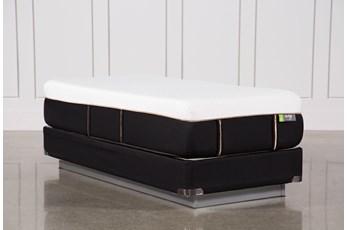 Copper Hybrid Medium Twin Extra Long Mattress W/Foundation