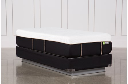 Copper Hybrid Medium Twin Extra Long Mattress W/Foundation - Main