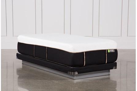 Copper Hybrid Medium Twin Xl Mattress W/Low Profile Foundation - Main