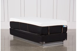 Copper Hybrid Plush Twin Extra Long Mattress W/Foundation