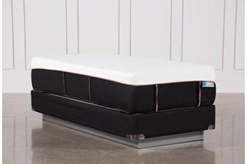 Copper Hybrid Plush Twin Extra Long Mattress W/Foundation