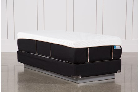 Copper Hybrid Plush Twin Extra Long Mattress W/Foundation - Main