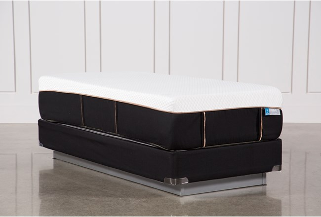 Copper Hybrid Plush Twin Extra Long Mattress W/Foundation - 360