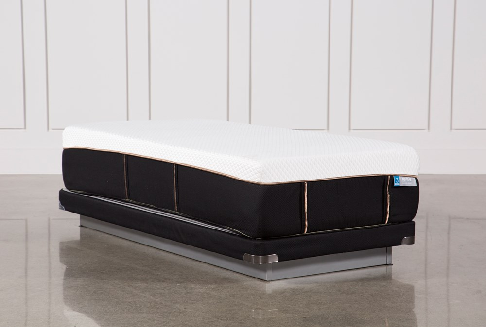 Copper Hybrid Plush Twin Xl Mattress W/Low Profile Foundation