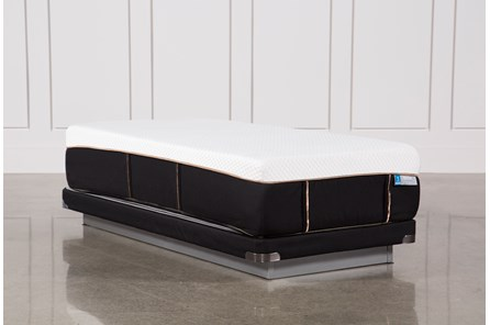 Copper Hybrid Plush Twin Xl Mattress W/Low Profile Foundation - Main