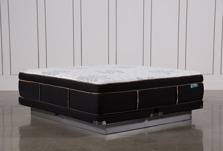 Copper Springs Firm Cal King Mattress W/Low Profile Foundation
