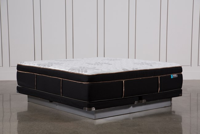 Copper Springs Firm Eastern King Mattress W/Low Profile Foundation - 360