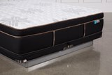Copper Springs Firm Eastern King Mattress W/Low Profile Foundation - Top