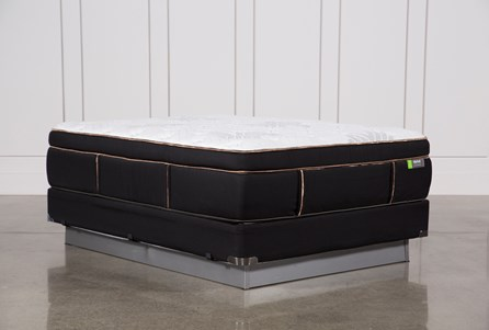 Copper Springs Medium Queen Mattress W/Foundation