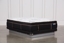 Copper Springs Plush Queen Mattress W/Low Profile Foundation