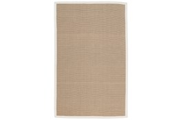 24X36 Outdoor Rug-Faye White Border