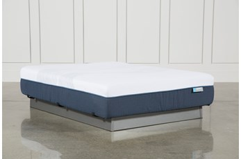 Blue Hybrid Firm Twin Extra Long Mattress