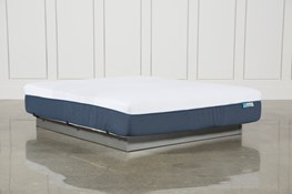 Blue Hybrid Firm California King Mattress