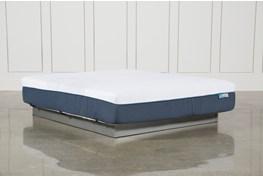 Blue Hybrid Firm California King Mattress