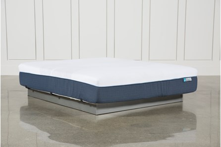 Blue Hybrid Firm California King Mattress - Main