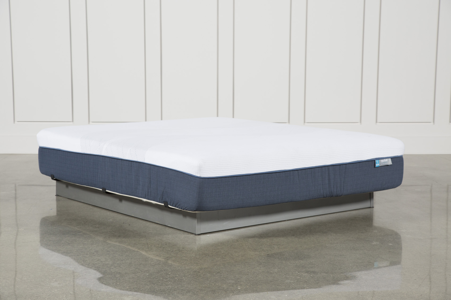 Exceptionnel Blue Hybrid Firm California King Mattress   360