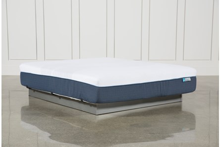 Blue Hybrid Firm Eastern King Mattress