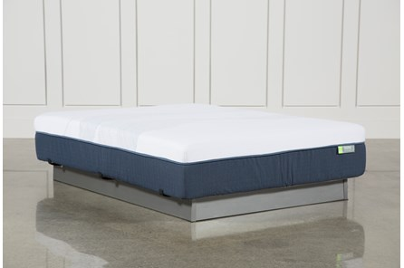 Blue Hybrid Medium Queen Mattress - Main