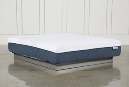 Blue Hybrid Medium California King Mattress