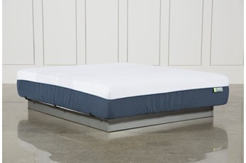 Blue Hybrid Medium California King Mattress
