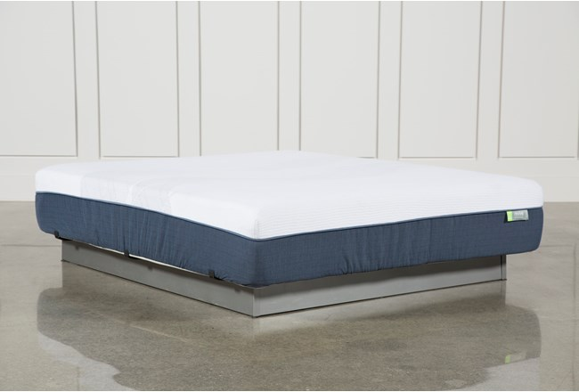 Blue Hybrid Medium California King Mattress - 360