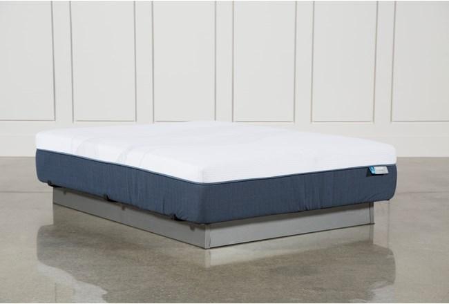 Blue Hybrid Plush Queen Mattress - 360