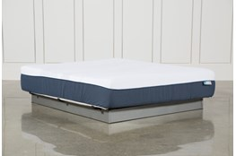 Blue Hybrid Plush California King Mattress