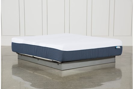 Blue Hybrid Plush California King Mattress - Main