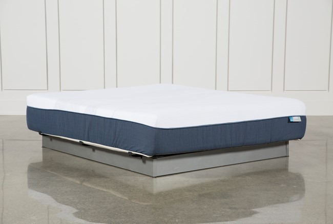 Blue Hybrid Plush California King Mattress - 360