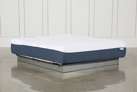 Blue Hybrid Plush Eastern King Mattress