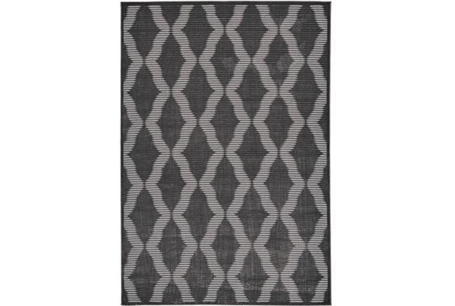 120X158 Rug-Phineas Charcoal - 360