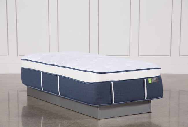 Blue Springs Medium Twin Extra Long Mattress - 360
