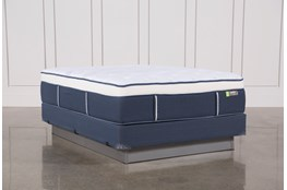 Blue Springs Medium Queen Mattress W/Foundation