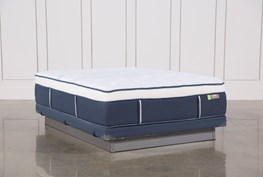 Blue Springs Med Queen Mattress W/Low Profile Foundation