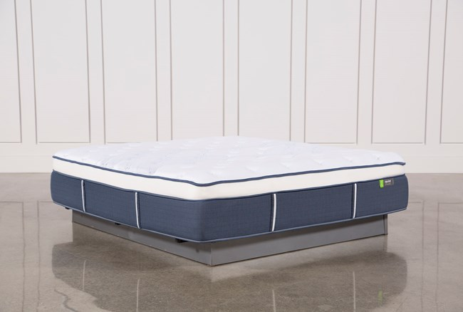 Blue Springs Medium Eastern King Mattress - 360