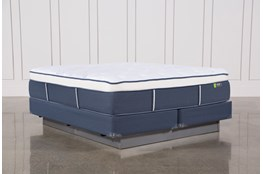 Blue Springs Medium Eastern King Mattress W/Foundation