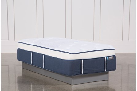 Blue Springs Plush Twin Extra Long Mattress - Main