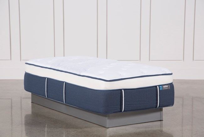 Blue Springs Plush Twin Extra Long Mattress - 360