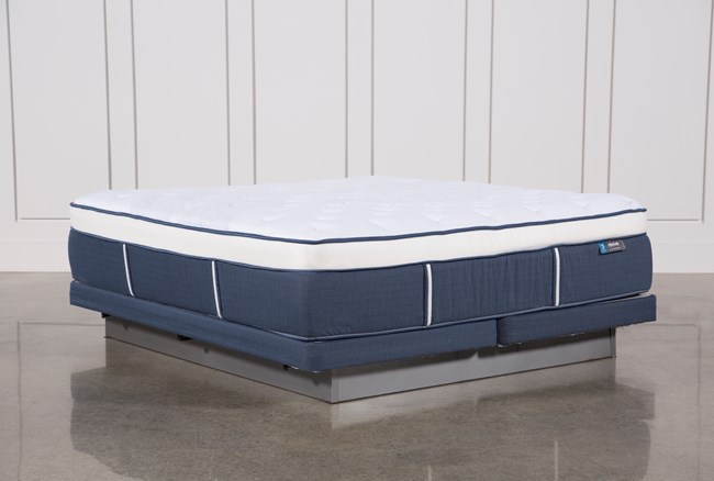Blue Springs Plush Cal King Mattress W/Low Profile Foundation - 360