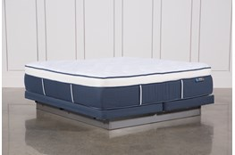 Blue Springs Plush Eastern King Mattress W/Low Profile Foundation