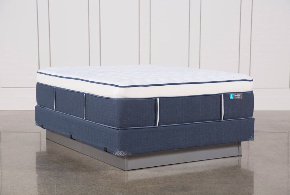 Blue Springs Firm Queen Mattress W/Foundation