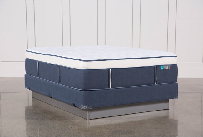 Blue Springs Firm Queen Mattress W/Foundation - 360