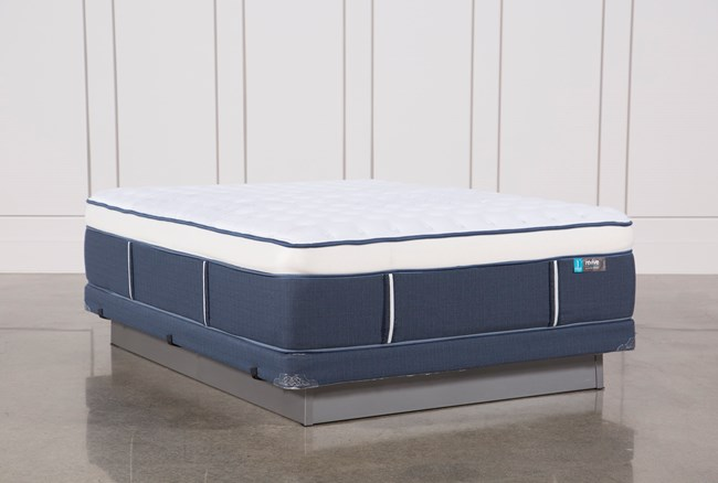 Blue Springs Firm Queen Mattress W/Low Profile Foundation - 360