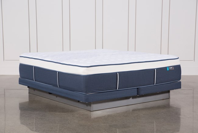 Blue Springs Firm Eastern King Mattress W/Low Profile Foundation - 360